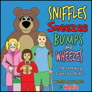 Janeway - Sniffles Sneezes Bumps and Wheezes - Newfoundland Childrens Book by Necie